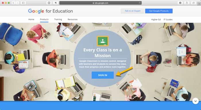 02. Google-Classroom-Screenshot