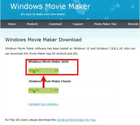 윈도우 무비메이커 다운로드 및 설치 방법_01