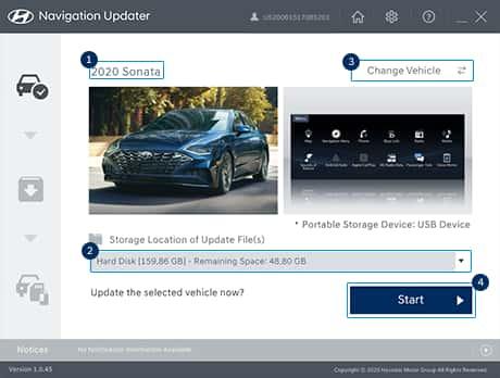 Hyundai car navigation update (1)