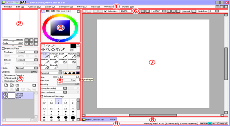 Paint tool SAI_Manual